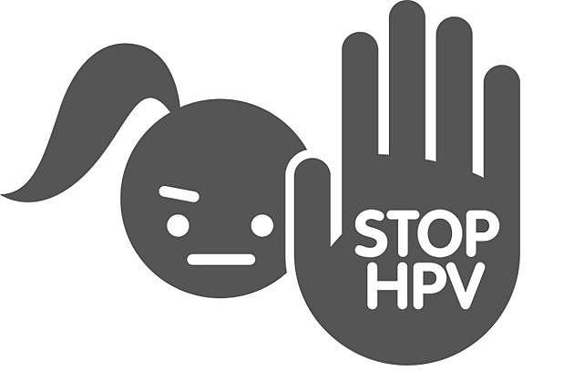 Illustration: Stop HPV kampagnen.