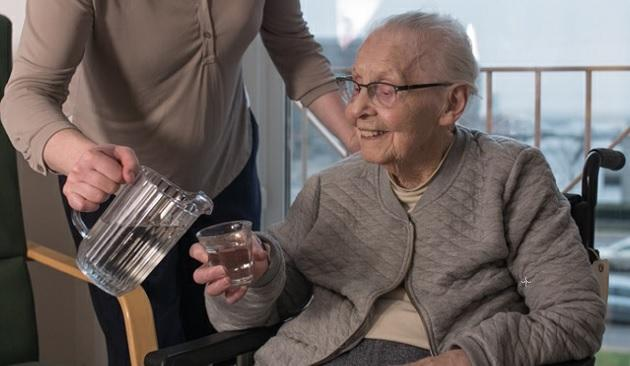 Patients with dehydration are generally elderly people with co-morbidity (Toke Schultze - Founthouse).